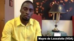 Edmar Nhaga - coordenador da Liga dos Direitos Humanos sector de Bissau.