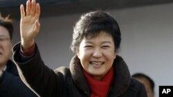 Tổng thống tân cử Nam Triều Tiên Park Geun-hye