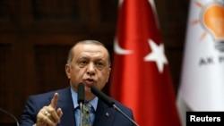Rais wa Uturuki Recep Yayip Erdogan