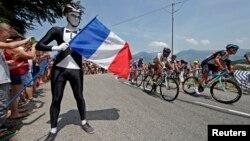 Mont Ventoux, 14 juillet 2013.