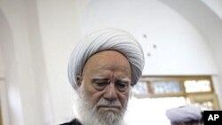 2일 이란 총선이 실시되는 가운데, 테헤란 근교 투표소.