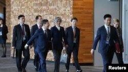 Janubiy Koreya delegatsiyasi