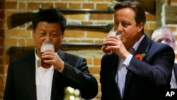 While they enjoyed a beer at a pub, Britain's Prime Minister David Cameron and Chinese President Xi Jinping may not be so friendly anymore.