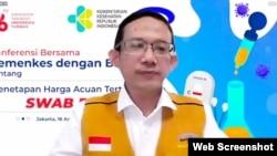 Iwan Taufik Purwanto, Deputi PIP Bidang Polhukam dan PMK, BPKP. (Foto: VOA)