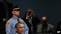 美国总统奥巴马9月21日在联合国大会上讲话