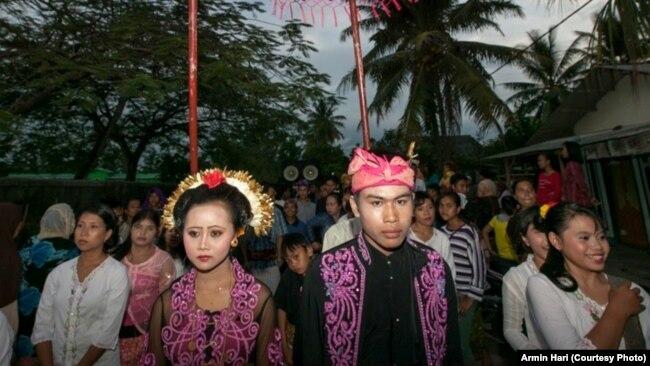 Perkawinan anak masih banyak terjadi di Indonesia (foto: ilustrasi).