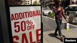 La venta de ropa, productos electrónicos y de pasatiempos, aumentó durante el mes de abril, en EE.UU.