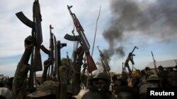Abarwanyi ba Sudani y'Ubumanuko, mu ntara ya Haut Nil.