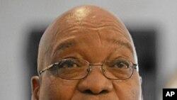 جنوبی افریقہ کے صدر جیکب زوما