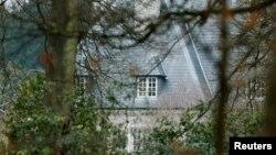 Дом Бориса Березовского в Аскот, графство Беркшир, Великобритания. 24 марта 2013 года