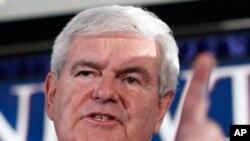 Newt Gingrich ေတာင္ကယ္႐ိုလိုင္းနားမွာ အႏိုင္ရ