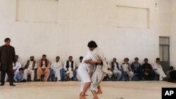 افتتاح یک سالن خاص کشتی در هرات