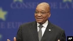 Jacob Zuma. Líder da potencia regional africana agora a melhorar relações com Angola, potencia emergente