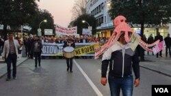 Protest građana i opozicije u Podgorici, 30. mart 2019.