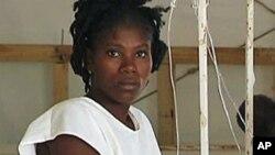 Wata Yar kasar Haiti mai dauke da kolera