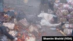 Після вибуху на ринку в пакистанському місті Парачінар