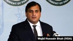 پاکستان کے دفترِ خارجہ کے ترجمان ڈاکٹر محمد فیصل (فائل فوٹو)