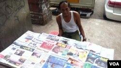 Miến Điện, vốn là một trong những nước mà dân chúng bị áp bức nhất khu vực Đông Nam Á, đã tăng được 18 bậc trong bảng xếp hạng hàng năm về Chỉ số Tự do Báo chí.