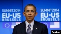 Prezident Barak Obama, Bryussel, 26-mart, 2014-yil