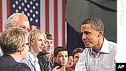 奥巴马在市民大会抨击反医改不实传言