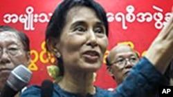 استقبال از رهایی آن سان سو چی در برما