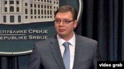 Lider SNS-a Aleksandar Vučić