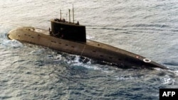 Tàu ngầm lớp kilo do Nga sản xuất.
