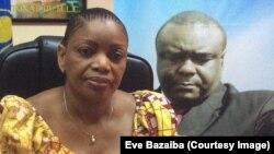 Eve Bazaiba, chef de file du Front pour le respect de la Constitution (FRC) et secrétaire général du Mouvement pour la libération du Congo (MLC), 4 janvier 2016. Crédit Eve Bazaiba/Facebook