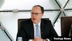 시드니 사일러 미국 국무부 6자회담 특사 (자료사진)
