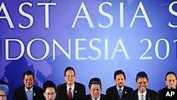 동아시아정상회의 참가한 각국 정상들