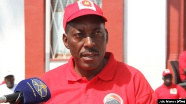 José Laurindo, presidente do Sindicato da Educação