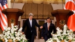 Kerry Meets Davutoglu In Turkey