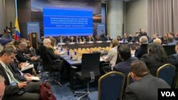 Los cancilleres del TIAR, Tratado Interamericano de Asistencia Recíproca, se reunieron en Bogotá el 3 de diciembre de 2019.