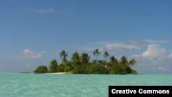 Republic of Maldives --A view of an island in the Maldives Source: Free On Line Photos
