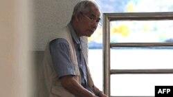 Seorang pria berumur di Bangkok, Thailand.