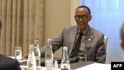 Président Paul Kagame ya Rwanda na Paris, France, 18 mai 2021.
