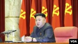 ຜູ້ນໍາ ເກົາຫລີເໜືອ ທ່ານ Kim Jong Un