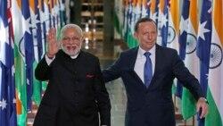 """粵語新聞 晚上10-11點: 澳洲擬以印度""""完美取代""""中國"""