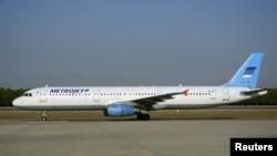 出事的空客A-321飞机在土耳其的近照(2015年9月17日)