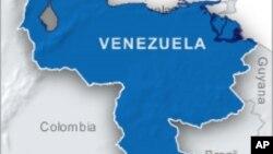 委内瑞拉地理位置图