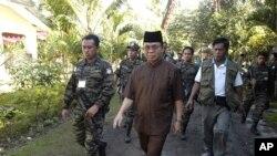菲律宾反叛组织领导人2月5日在菲律宾南部营地
