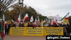 Iraníes en Estados Unidos expesan su apoyo a las recientes protestas contra el gobierno en Irán.
