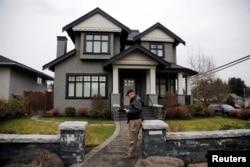 华为首席财务官孟晚舟的家庭在加拿大不列颠哥伦比亚省温哥华市拥有的两所房屋之一