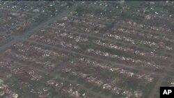 На друзки. По штату Оклагома пронісся потужний торнадо. ФОТО