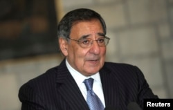 FILE - Former Defense Secretary Leon Panetta says defeating terror groups will require attention to the root causes of terrorism.
