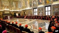 梵蒂冈主教会议(2014年12月22日)