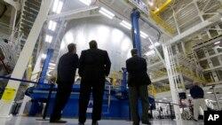 Centar NASA-e u Nju Orleansu u kome se konstruiše glavna komponenta za rakete novog Sistema za svemirsko lansiranje.