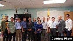 Thượng Nghị sĩ bang Massachusetts Dean Trần và cộng đồng người Mỹ gốc Việt, ngày 6/9/2018.