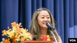 FILE - ​Julie Chung, Deputy Chief of Mission of the U.S. Embassy in Cambodia.