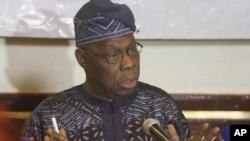 Olusegun Obasanjo, enviado especial da Cedeao